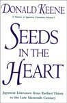 9780805043648: Seeds in the Heart: Japanese Literature from Earliest Times to the Late Sixteenth Century