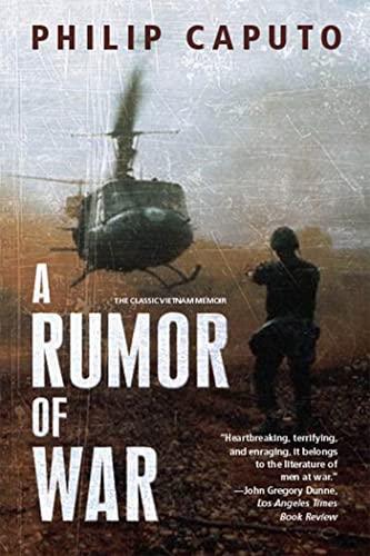 9780805046953: A Rumor of War