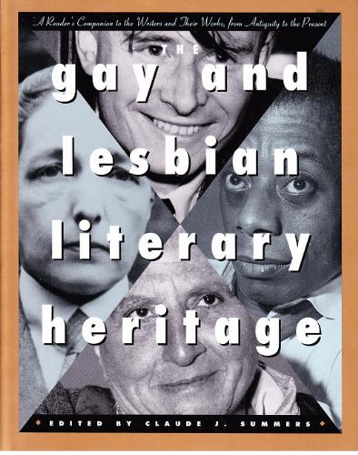 9780805050097: The Gay and Lesbian Literary Heritage: A Reader's Companion to the Writers and Their Work, from Antiquity to the Present