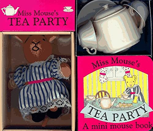9780805056464: Miss Mouse's Tea Party: A Book-And-Toy Set