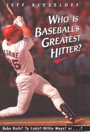 9780805060133: Who Is Baseball's Greatest Hitter?