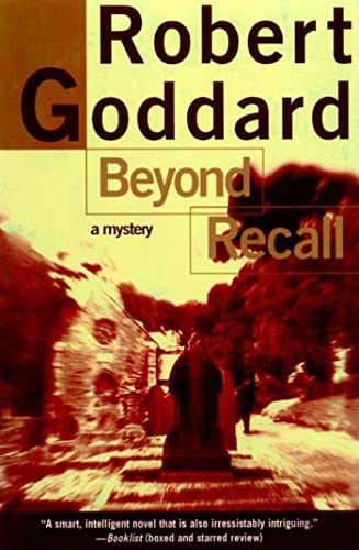 9780805061970: Beyond Recall: A Mystery (Henry Holt Mystery)