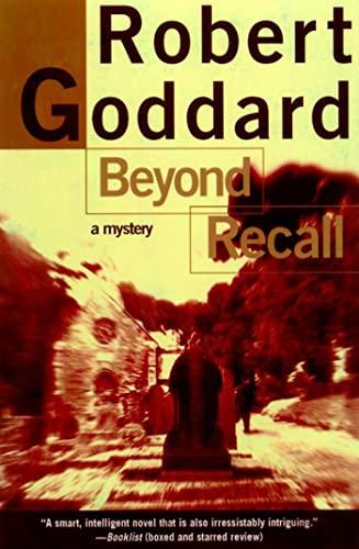 9780805061970: Beyond Recall (Henry Holt Mystery)
