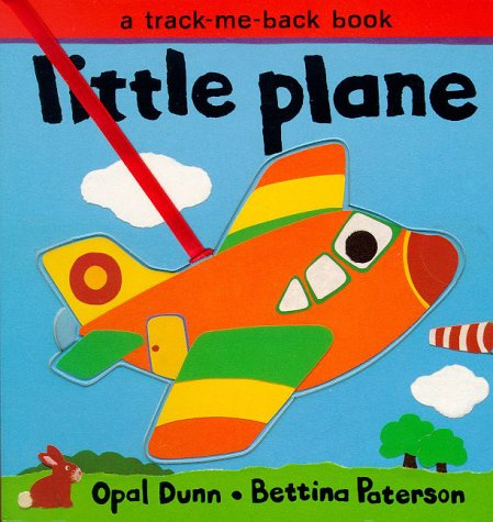 Little Plane (Track-Me-Back Board Books): Opal Dunn, Opal