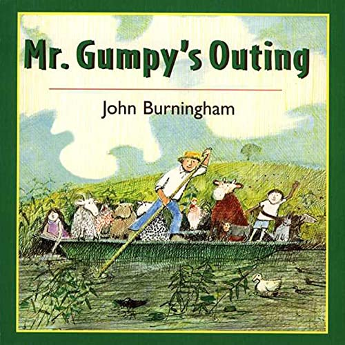 9780805066296: Mr. Gumpy's Outing Board Book