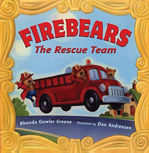 9780805070101: Firebears, the Rescue Team