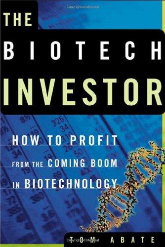9780805070699: Biotech Investor
