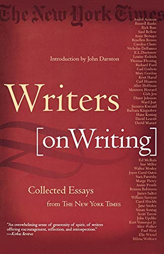 9780805070859: Writers on Writing: Collected Essays from The New York Times
