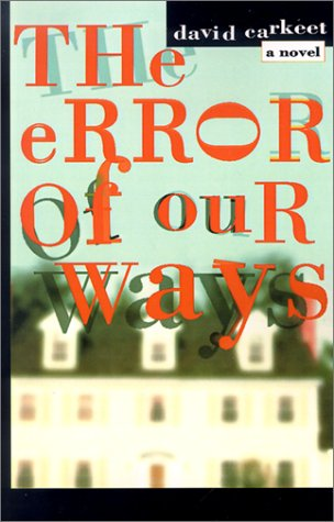 9780805071146: The Error of Our Ways