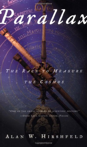 Parallax : the race to measure the cosmos.: Hirshfeld, Alan.