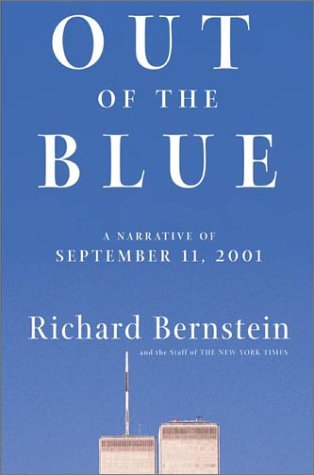 9780805072402: Out of the Blue: A Narrative of September 11, 2001