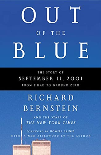 9780805074109: Out of the Blue: A Narrative of September 11, 2001