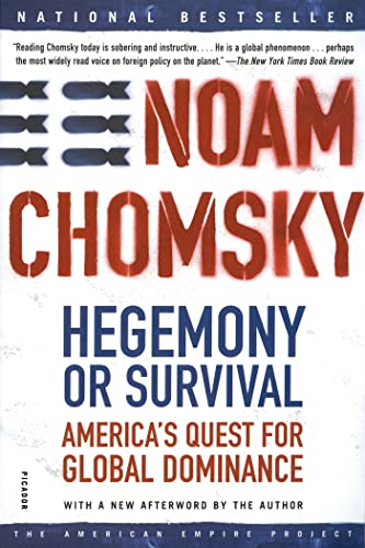 9780805076882: Hegemony or Survival (American Empire Project)