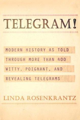 9780805076974: Telegram!