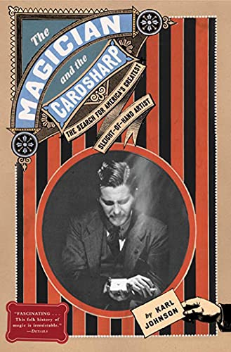 9780805080599: The Magician and the Cardsharp: The Search for America's Greatest Sleight-Of-Hand Artist