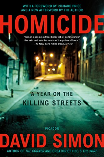 9780805080759: Homicide: A Year on the Killing Streets
