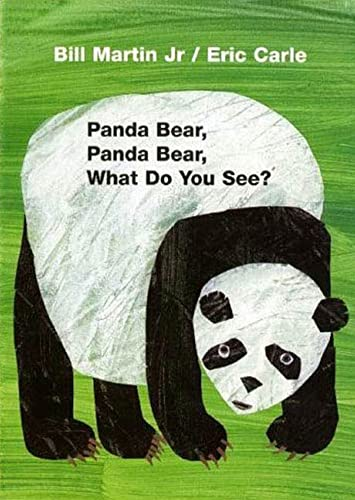 9780805080780: Panda Bear, Panda Bear, What Do You See? Board Book