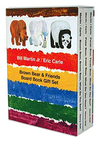 9780805082739: Brown Bear & Friends Board Book Gift Set: Brown Bear, Brown Bear, What Do You See?; Polar Bear, Polar Bear, What Do You Hear?; and Panda Bear, Panda Bear, What Do You See? (Brown Bear and Friends)