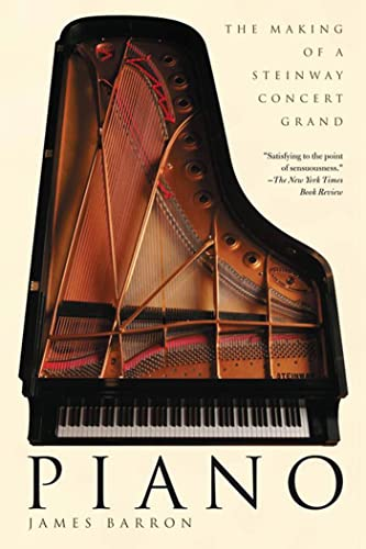 9780805083040: Piano: The Making of a Steinway Concert Grand