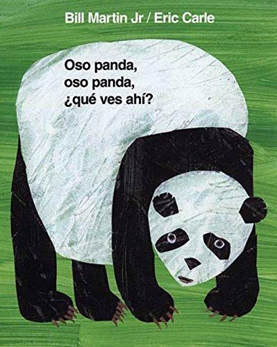 9780805083484: Oso panda, oso panda, ¿qué ves ahí? (Brown Bear and Friends) (Spanish Edition)