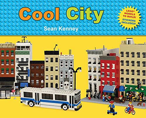 9780805087628: Cool City: Lego™ Models to Build - Stickers Included