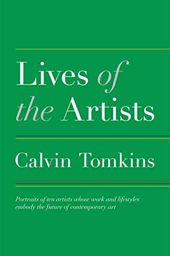 9780805091441: Lives of the Artists