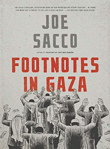 9780805092776: Footnotes in Gaza: A Graphic Novel
