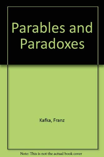 9780805200126: Parables and Paradoxes