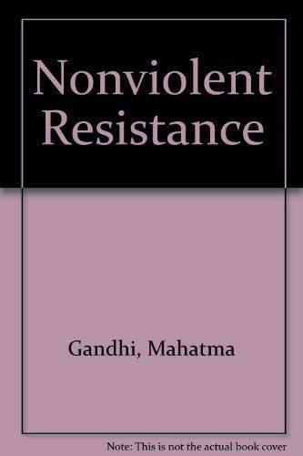 9780805200171: Nonviolent Resistance