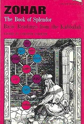 9780805200454: Zohar: The Book of Splendor: Basic Readings from the Kabbalah