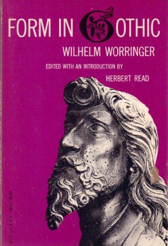 9780805200706: Form in Gothic (Schocken paperbacks)