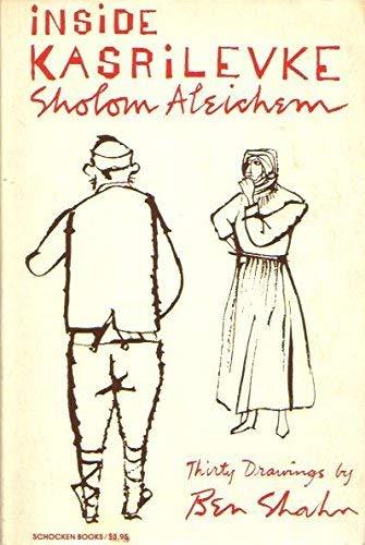 Inside Karsrilevke by Sholem Aleichem 1987 Hardcover: Sholem Aleichem