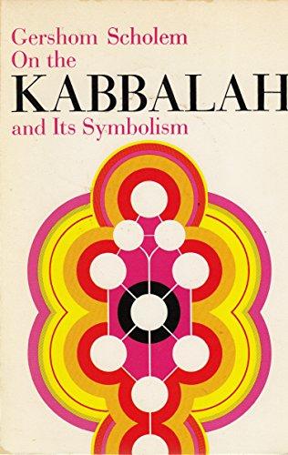 9780805202359: On the Kabbalah and Its Symbolism