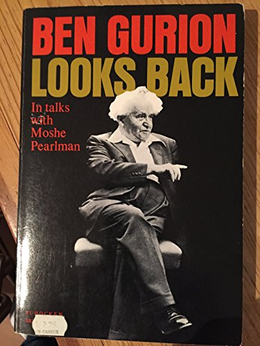 BEN GURION LOOKS BACK: Ben-Gurion, David