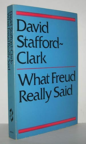 9780805202908: What Freud Really Said