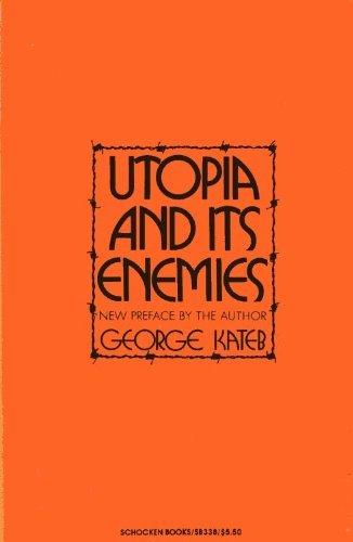 9780805203387: Utopia and Its Enemies (Studies in the libertarian & Utopian tradition, SB 338)