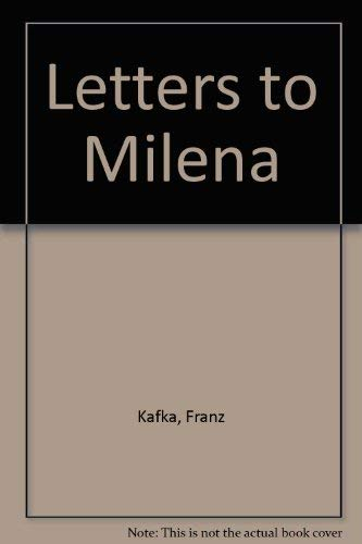 9780805204278: Letters to Milena
