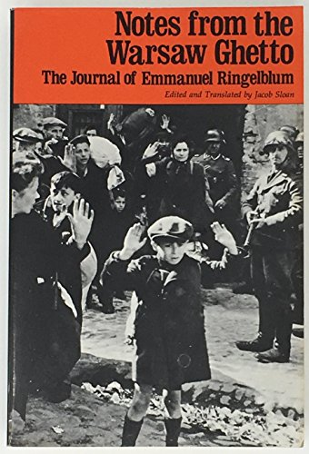 9780805204605: Notes from the Warsaw Ghetto; The Journal of Emmanuel Ringelblum.