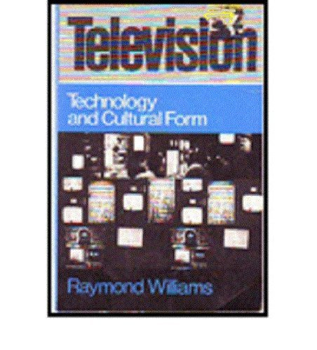 9780805205015: Television: Technology and Cultural Form