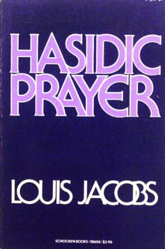 9780805206043: Hasidic Prayer