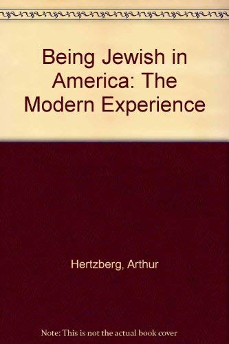 9780805206548: BEING JEWISH IN AMERICA