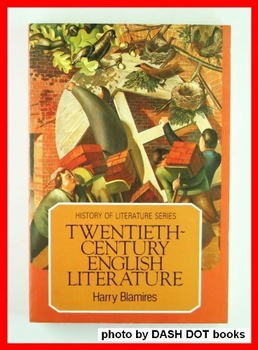 20TH CENT ENG LIT (History of Literature): Harry Blamires