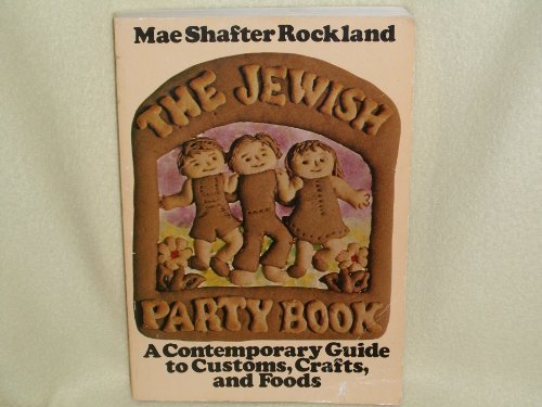 9780805208290: Jewish Party Book
