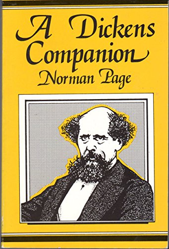 Dickens Companion: Page, Norman