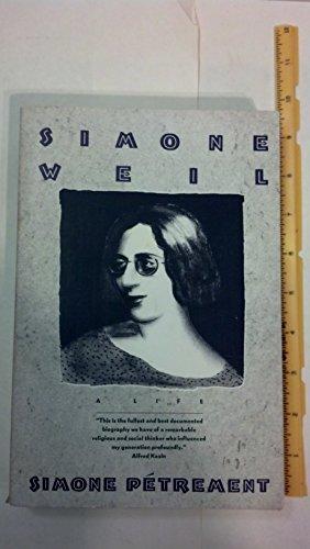 9780805208627: Simone Weil: A Life
