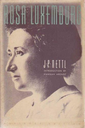 9780805208900: Rosa Luxemburg
