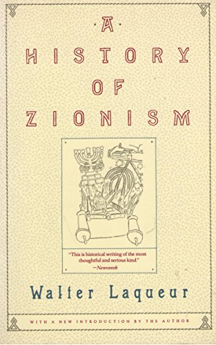 9780805208993: History of Zionism