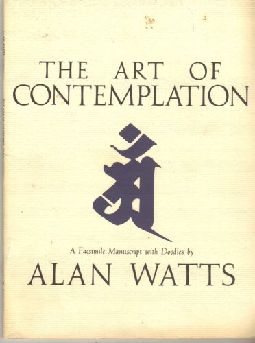 9780805209433: The Art of Contemplation