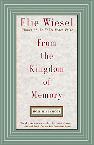 9780805210200: From the Kingdom of Memory: Reminiscences