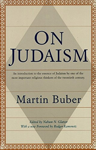 9780805210507: On Judaism: An Introduction to the Essence of Judaism by One of the Most Important Religious Thinkers of the Twentieth Century